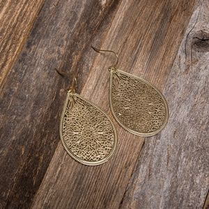 Piper K 14kt Gold Plated Earrings